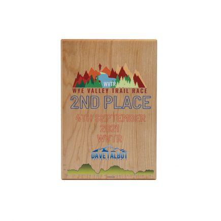 Medium Solid Maple Award