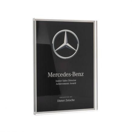 Medium Clear Cast Acrylic Award
