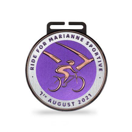 Flextec Metallic Round Medals